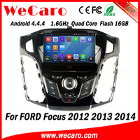 Wecaro WC-FF7305 Android 4.4.4 car dvd indash for ford focus 3 android 2012 2013 2014 Wifi&3G
