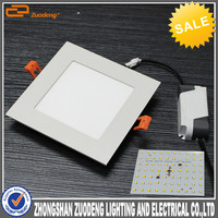 attractive aluminum 18w 3000k 4000k 6000k led panel light china led tv price in india