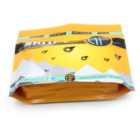 Custom Printed Stand up Foil Whey Protein Packaging Bags with Zipper&