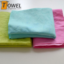High quality microfiber cooling sports towel pva chamois