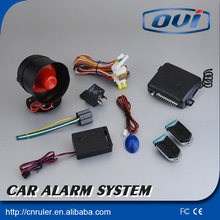Remote control keyless entry system electric shock car alarm anti-hijacking car alarm system