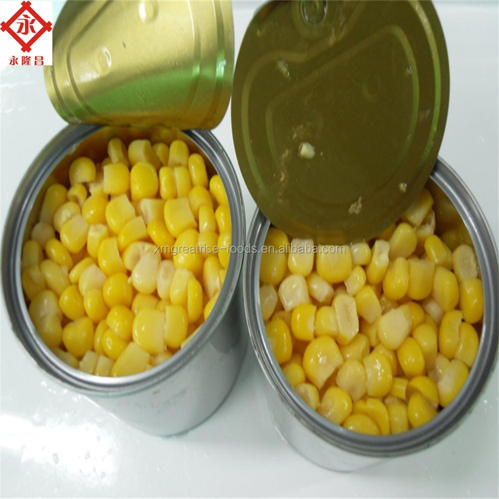 High Quality Kosher/HACCP Canned Sweet Corn Kernel