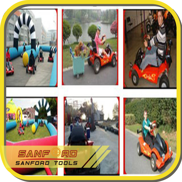 CE Approved Outdoor Door Activity Kids Electric Go Kart With Optional Safety Bumper electric go kart