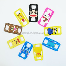 "universal silicone phone case cute case for 3.7"" to 7"" phone"