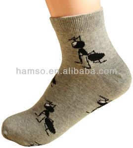 service supply type custom ankle socks custom design your own so图片