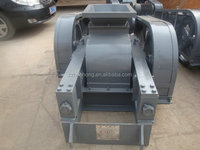 smooth double roller crusher with easy operation