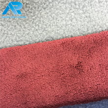 Professional order made nylon polyester spandex fleece fabric for wholesales