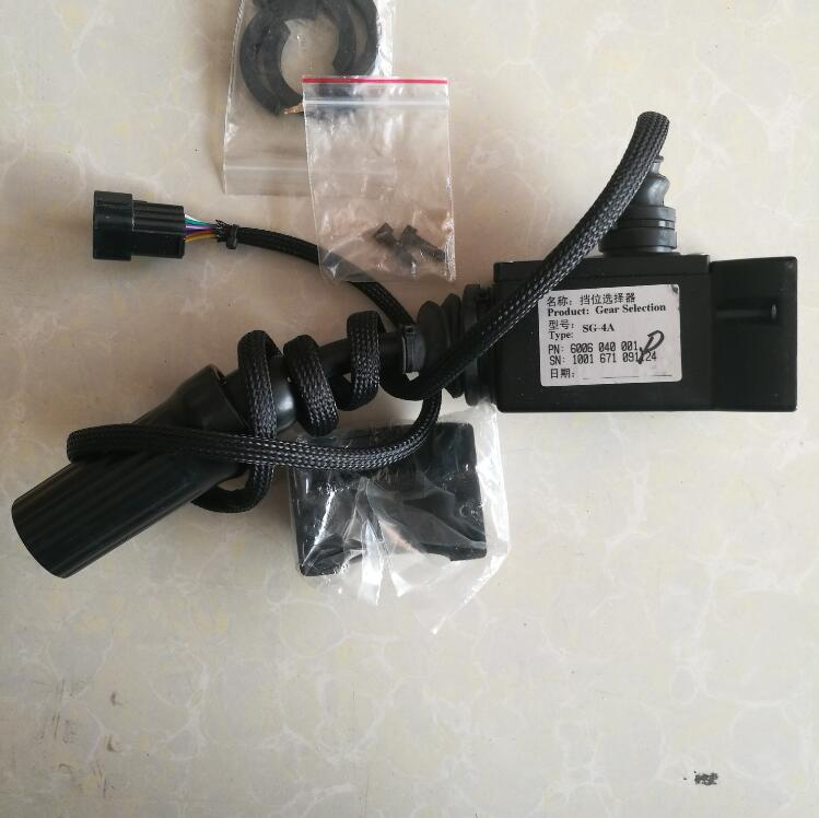 WG180 Transmission SG-4A shift lever 6006 040 <strong>001</strong> for wheel loader LG936L LG956L