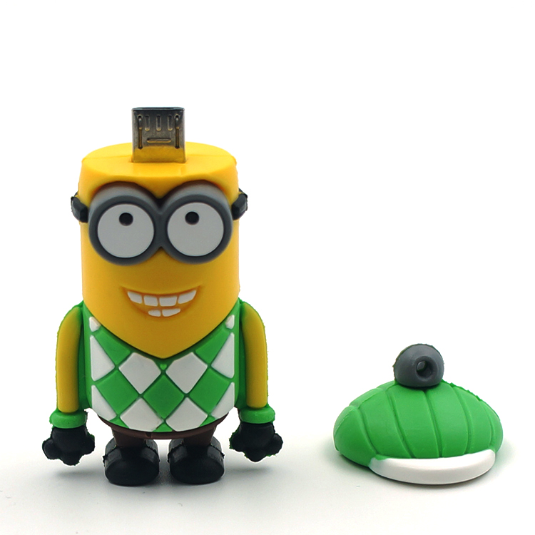 Cartoon Minions ME Model USB OTG Memory Flash Stick Pen Thumbdrive / Gift USB Disk / Disk