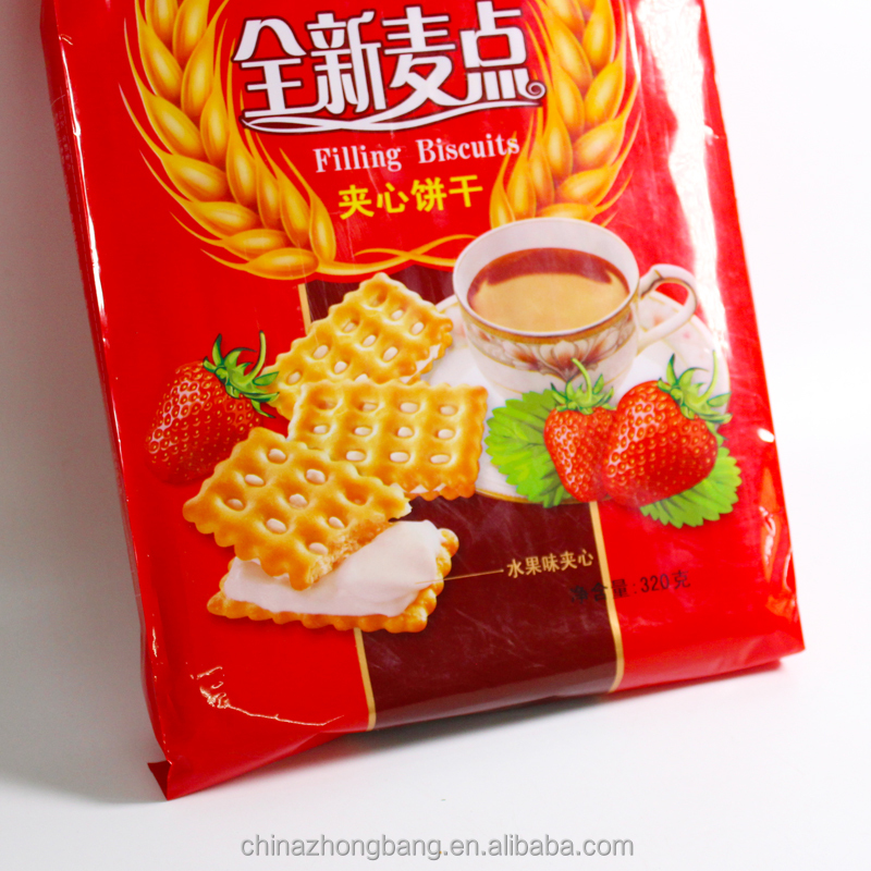 Healty crispy sweet cream biscuit manufacturers with low price