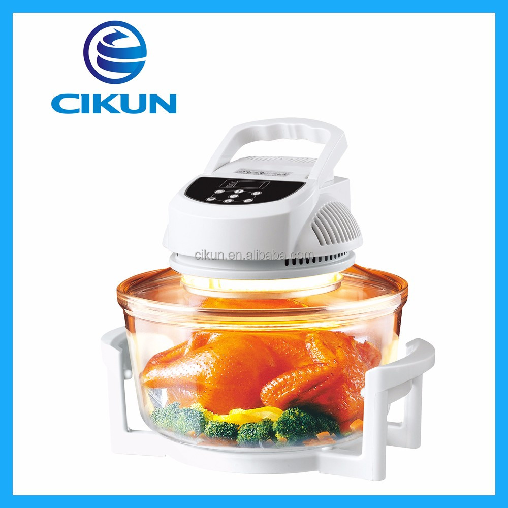 12L home use digital type hot-selling electric convection oven/halogen oven