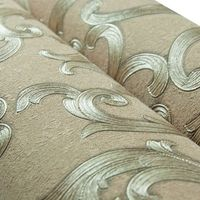 Decorative home high quality modern style blown vinyl wallpaper