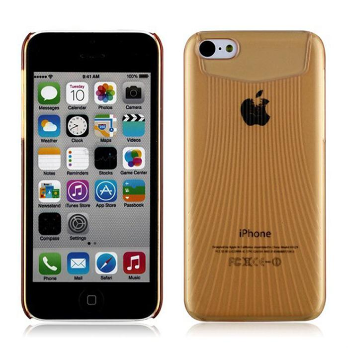 Plastic Cover For iPhone 5C Hard Case Clear