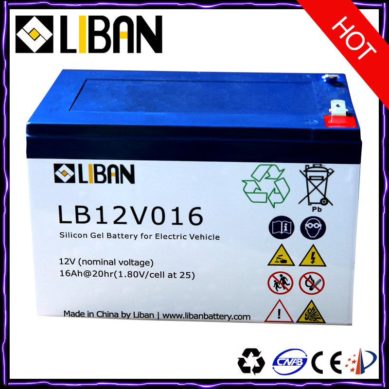12V 16Ah Maintenance Free Rechargeable Battery Pack