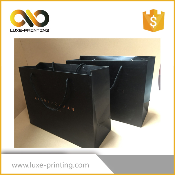 Total Quality Controled Large Paper Shopping Bags
