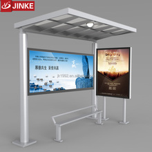 prefabricated custom made modern Bus stop station passenger shelters