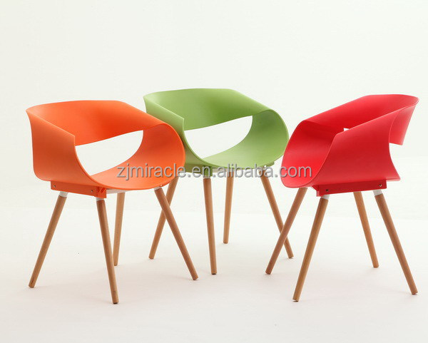New hot sale plastic accent living room chairs