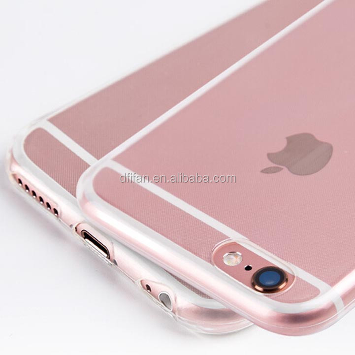 Best selling items ultra thin transparent crystal tpu phone case for iphone 6s, mobile phone shell for iPhone6