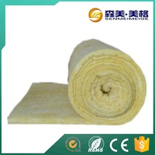 fiber yellow loose thermal isolation 50mm glass wool