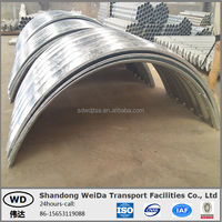 ARCH Shape Corrugated Steel Culvert pipe