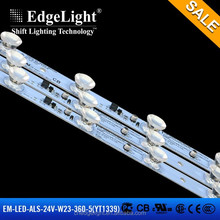 new design edgelight super brightness LED light strip bar for installing fabric light box light source