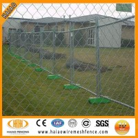 China Alibaba supplier cheap used chain link mesh temporary fence for sale