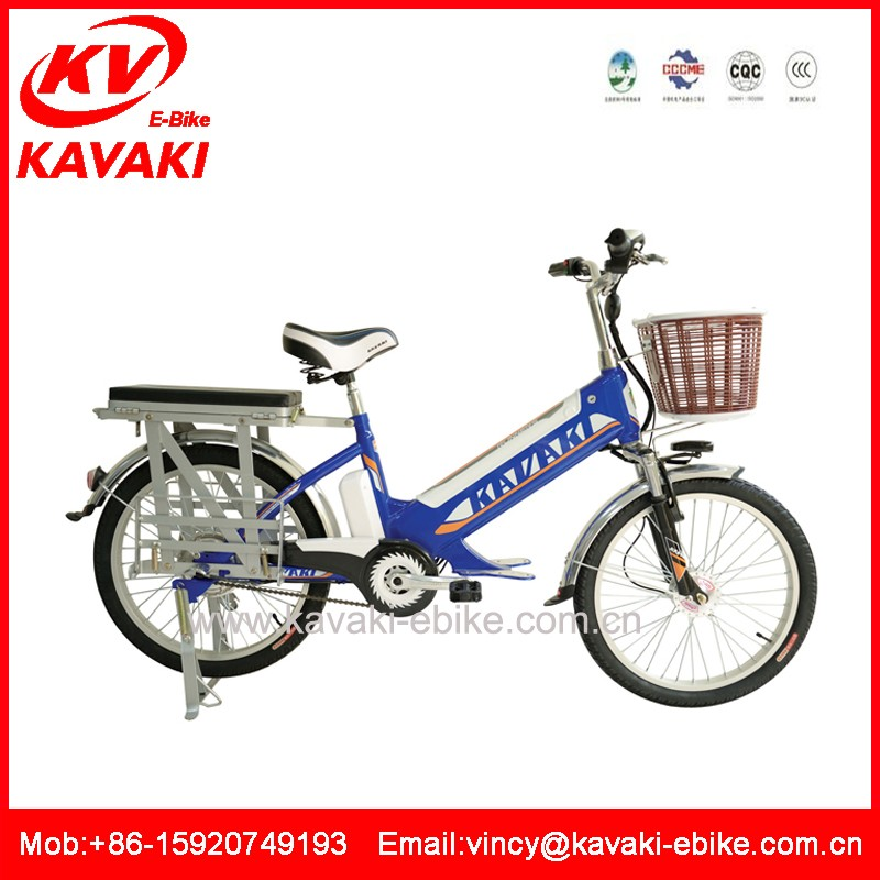 Auto powerful two wheel electric cargo loading bicycle Electric mountain bike for adult