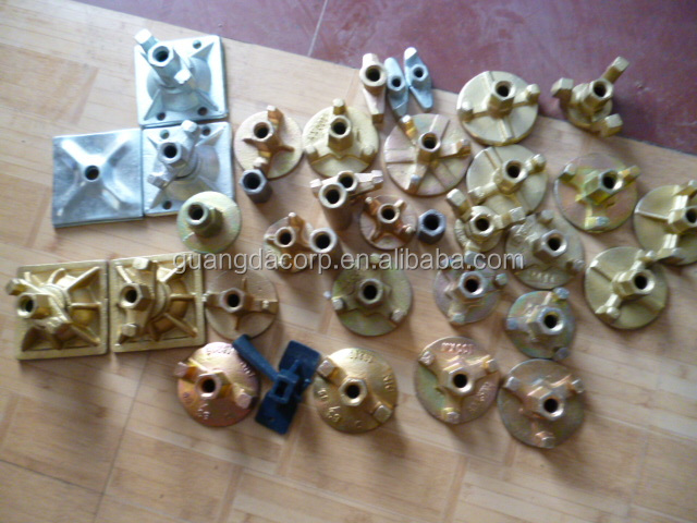 manufacturer casting iron wing nut and bolt