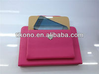 Fashionable Briefcase design pu leather case for ipad mini with stand