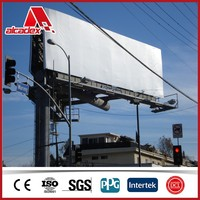 outdoor wall covering advertising billboard material sandwich panel price
