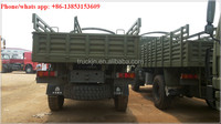 hot sale 2016 model howo 4x4 military cargo truck for sale