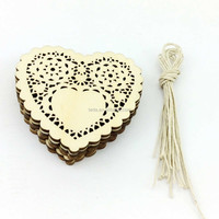 Wooden Love Heart Wood Shapes for Weddings Plaques Art Craft Embellishment