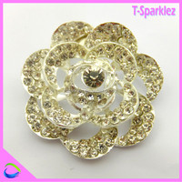 Bulk rhinestone brooches Jewelry / emerald brooch hair brooches jewelry for costume