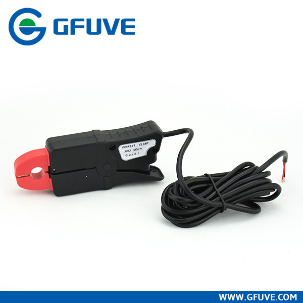 Portable clamp-on current probe current clamp