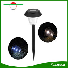 Decorative Stainless Steel Solar Lawn Lamp Mushroom Solar Lights for Garden