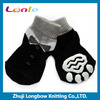 Dog pet supply wholesale suit print pet dog non slip socks
