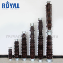 HOT SALE 33kV 35kV porcelain Solid core post Insulators/C4-550, C6-550 station post insulator