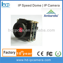 Ambarella A5s66 WDR 2.0Megapixel Low Lux IPC Module PCB Board For Bullet Camera IR Dome