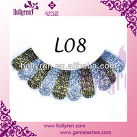 2013 Charming Lace Material for eyelash
