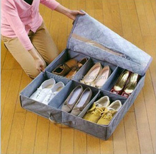 high quality Dust-proof Underbed Shoe Cloth Storage Boxes,shoes storage box