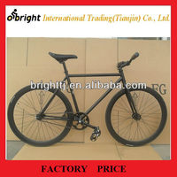 Hot selling full black Fixed gear bike,700cx23c,single speed