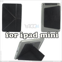Hybrid TPU case + PU stand leather cover for Apple iPad Mini, P-iPDMINICASE046