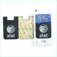 Cell Phone Silicon Case Card Holder