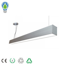 Linkable LED Architectural Modern Linear Suspension Lamp Pendant Led Trunk Linear Light