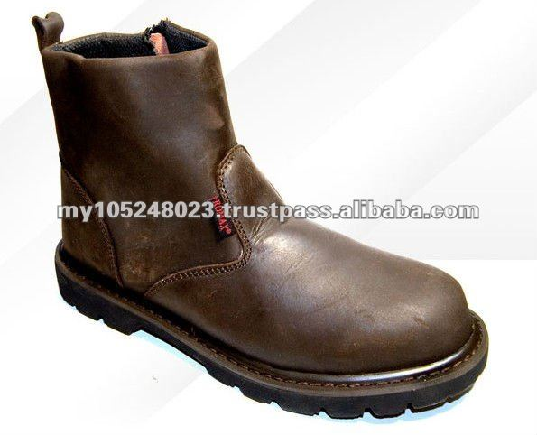 Leather Safety Shoes and Boots