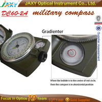 DC60-2A multi-functional military compass with scale ruler