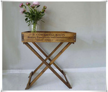 Wholesale Wood Tray Stand for Serving or Displaying