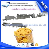 Sugar coated breakfast cereal cornflakes machine