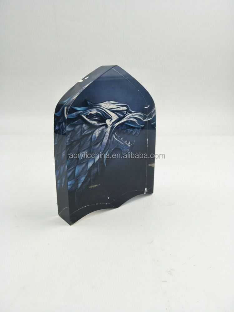 Factory supply acrylic stamp block,acrylic logo block,acrylic photo block