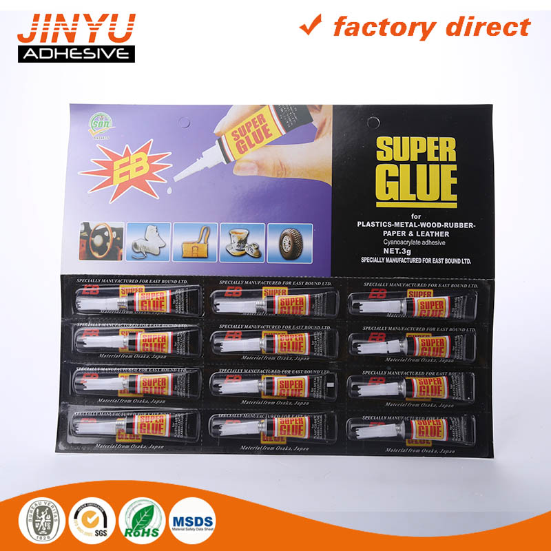 Wholesale strong viscous sctrach-resistant 502 high quality super fast glue